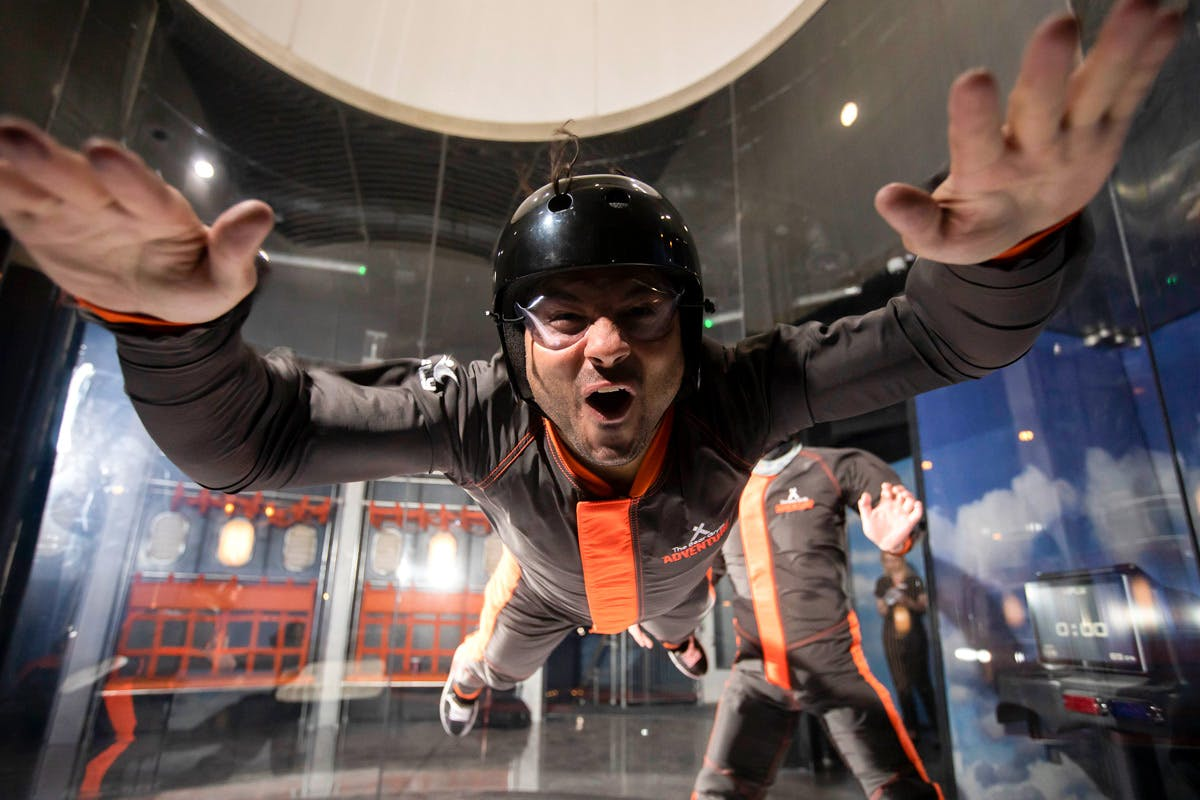 The Bear Grylls iFly and Challenge Choice Experience