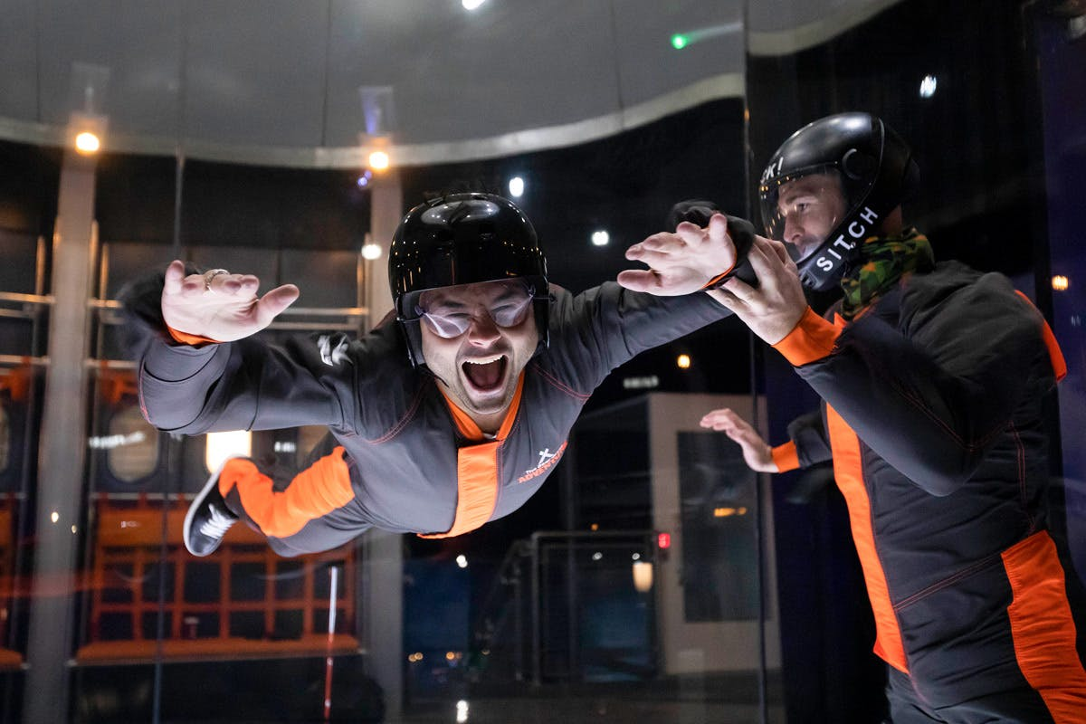 The Bear Grylls iFly and Challenge Choice Experience for Two