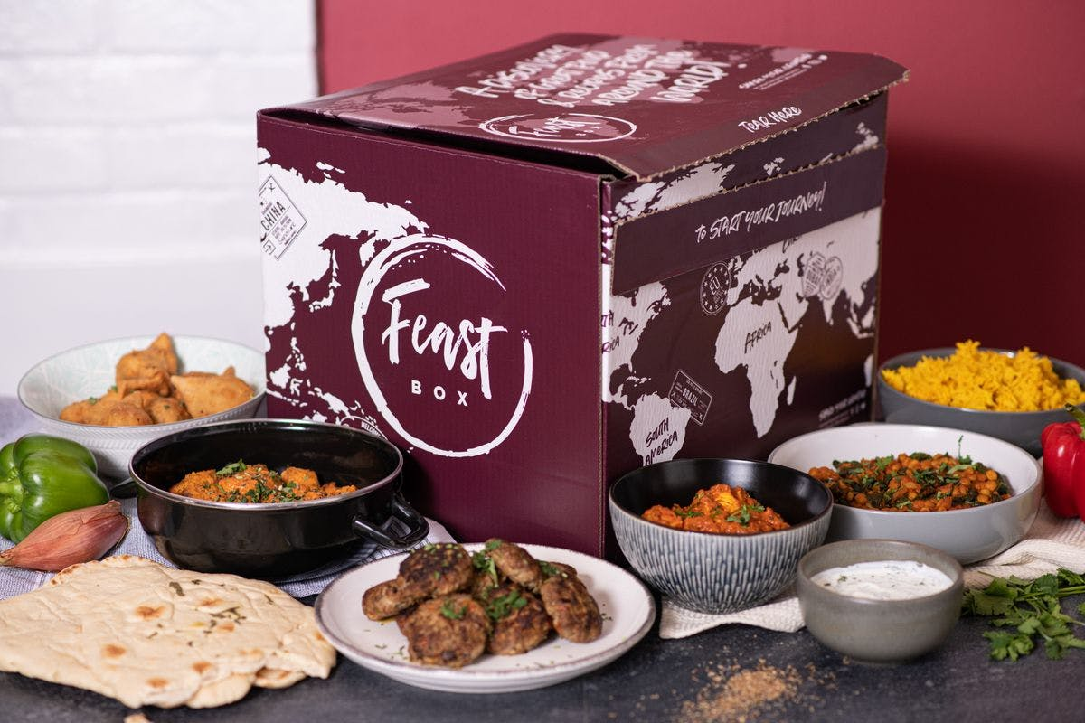 The Big Indian Night In for up to Six with Feast Box