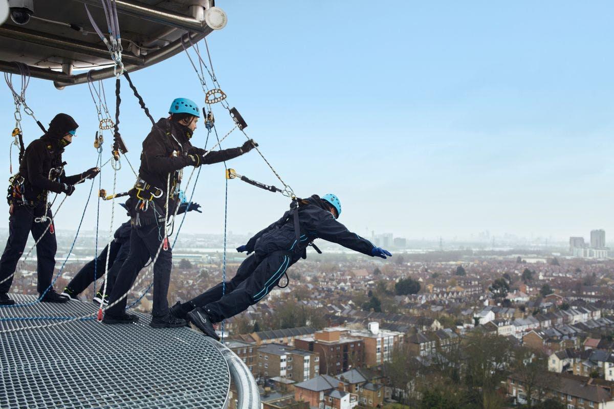 The Dare Skywalk Edge at Tottenham Hotspur Stadium for Two