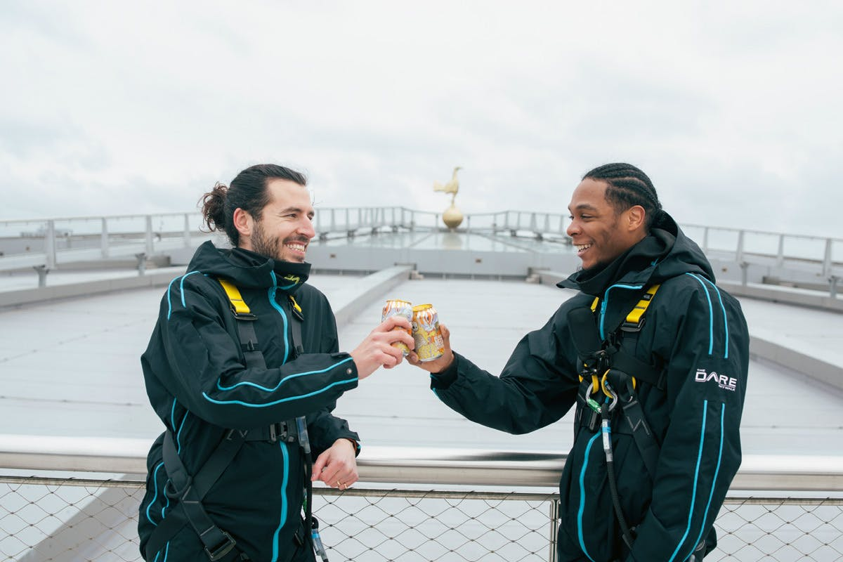 The Dare Skywalk with Prosecco for Two at Tottenham Hotspur Stadium