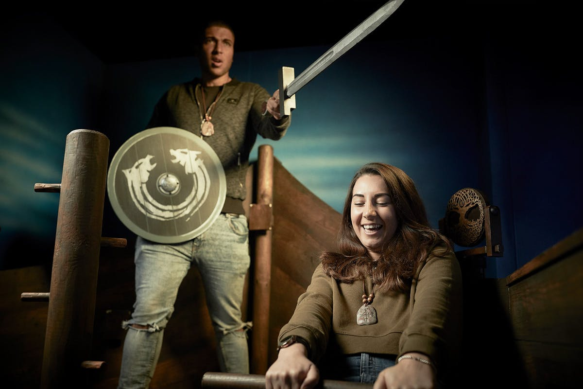 The Last Vikings Escape Game for Two with Escape Hunt