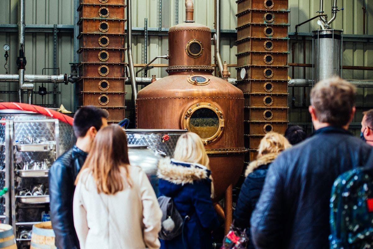 The Oxford Artisan Distillery Tour for Two