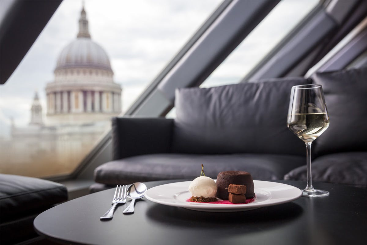 The Ultimate Roof Top Date Night with Dinner and Champagne for Two at Madison, St. Pauls