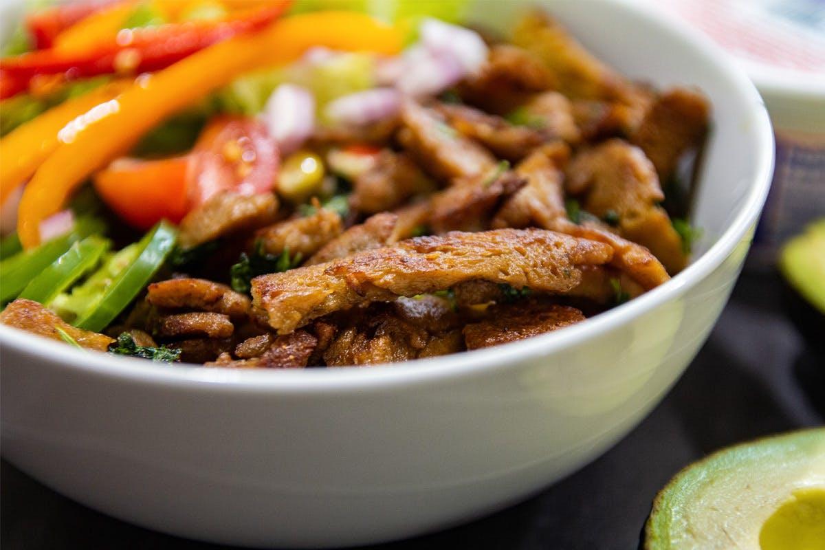 The Vegan 'Meat' Guru Class with The Vegetarian Society Cookery School