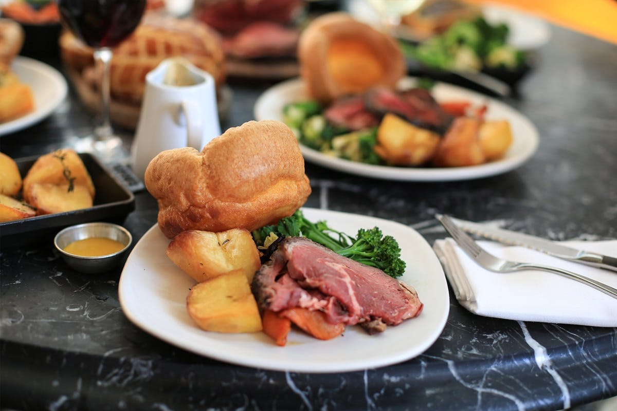The View from The Shard and Sunday Roast at a Gordon Ramsay Restaurant for Two