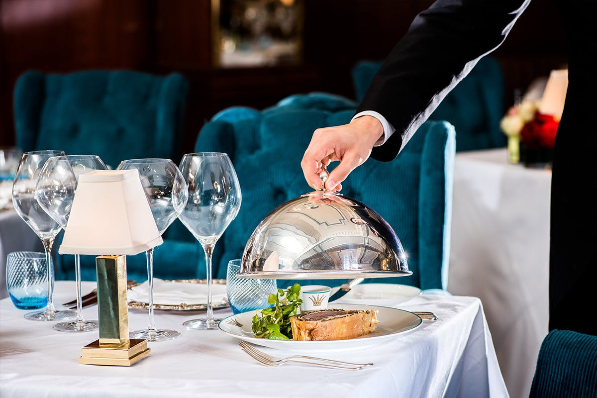 Three Course Champagne Lunch for Two at the 4* Rubens at the Palace Hotel, London