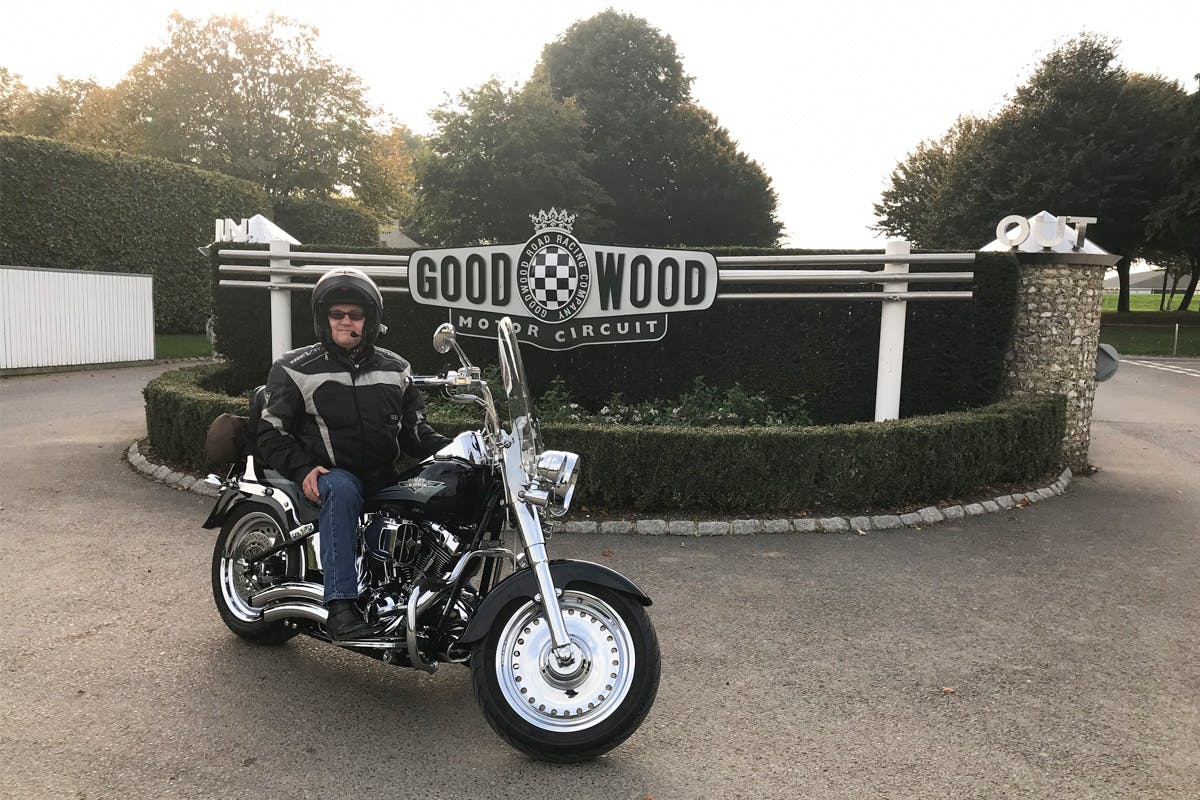 Three Hour Harley Davidison Pillion Ride Out with Lunch at the Goodwood Aerodrome Café