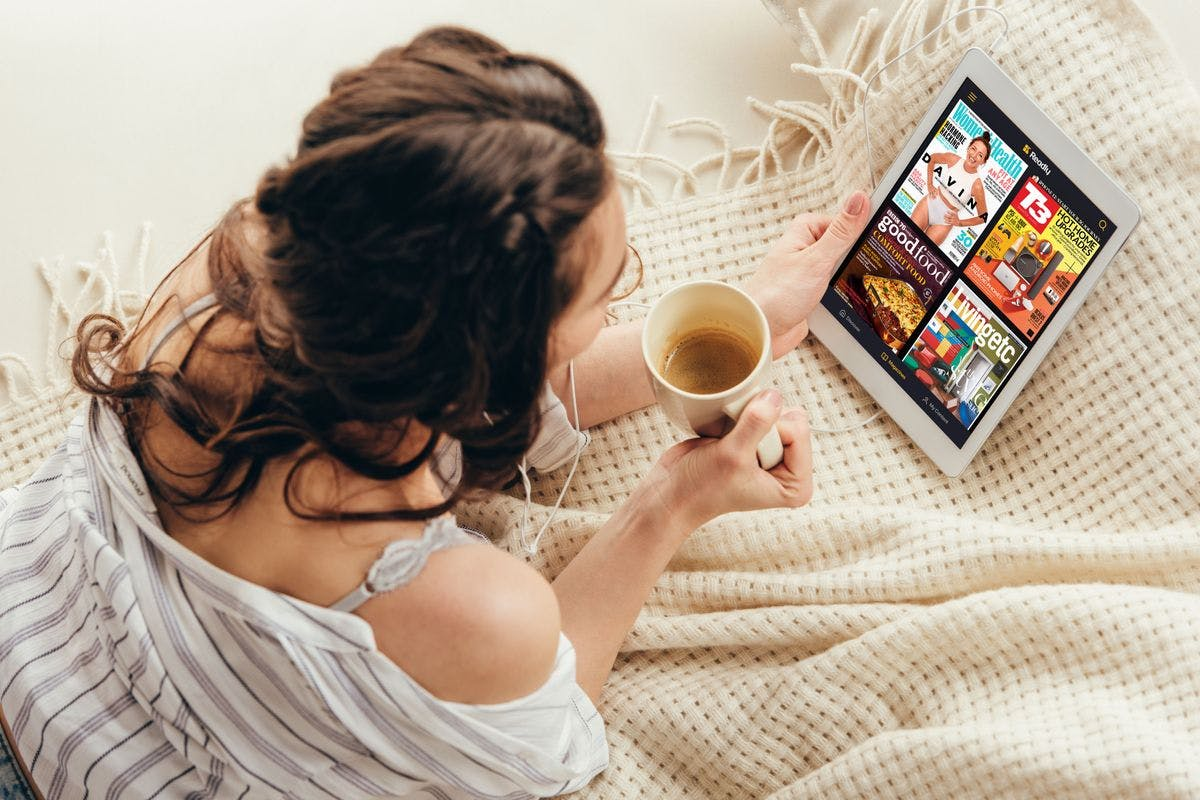 Three Month Readly Subscription with Unlimited Access to Magazines and Newspapers