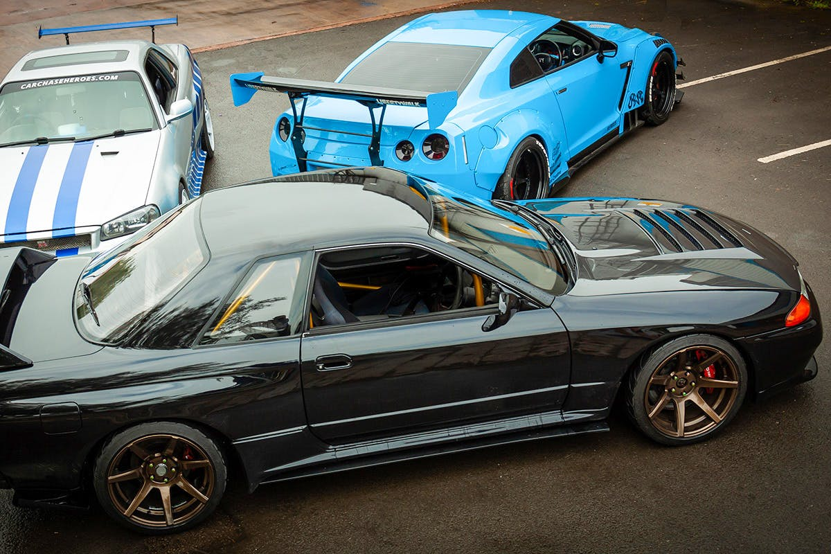 Track Prepared Nissan GT-R Double Blast with High Speed Passenger Ride