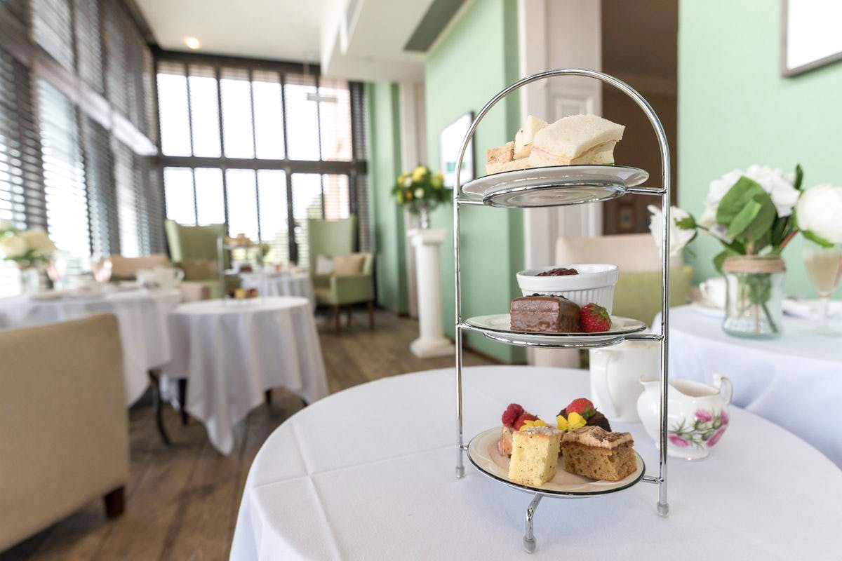 Traditional Afternoon Tea for Two at Highfield Park Country Manor House Hotel