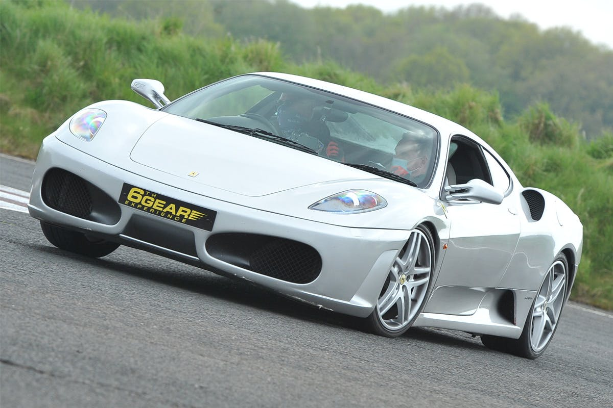 Triple Supercar Blast with Demo Lap, Photo and Breakfast at Stafford Driving Centre