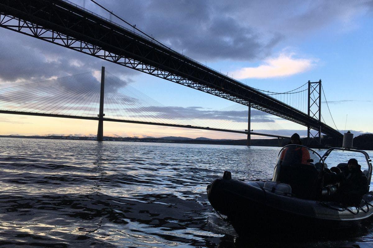 Two Hour Bridges and Blackness Castle Sea Safari on the Forth