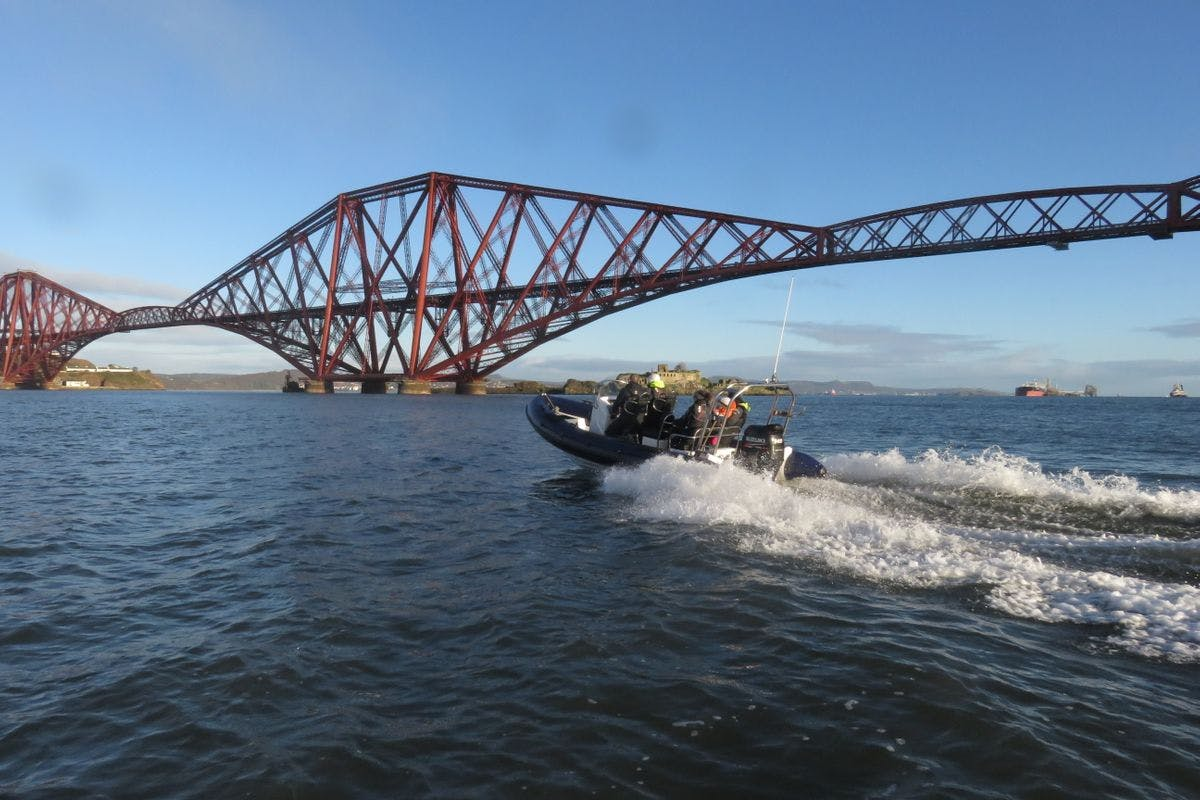 Two Hour Bridges and Blackness Castle Sea Safari on the Forth for Two