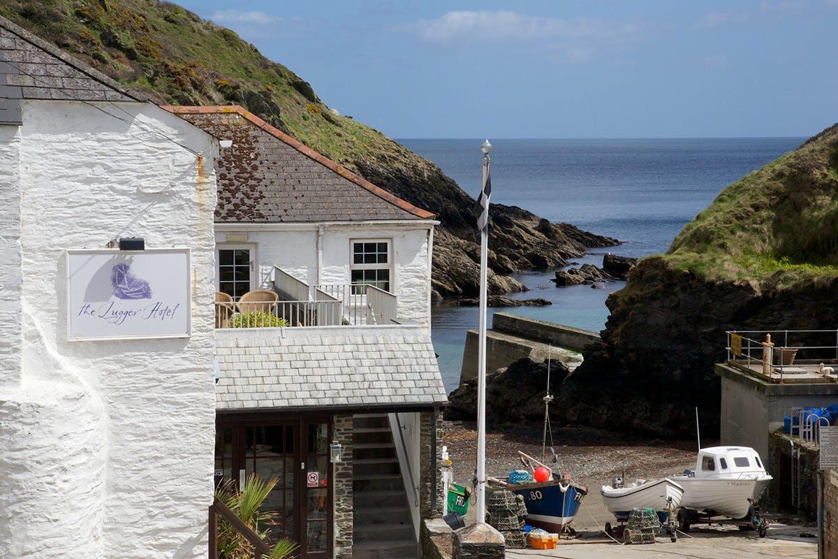 Two Night Cornish Coastal Escape for Two at Lugger Hotel, Portloe