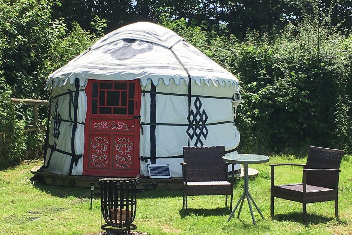 Two Night Devon Yurt Break for Two