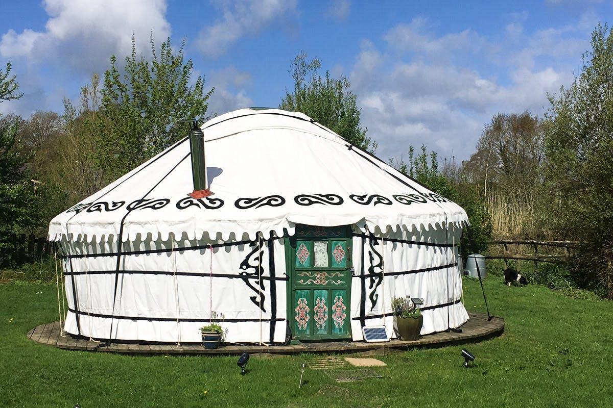 Two Night Devon Yurt Break for Six
