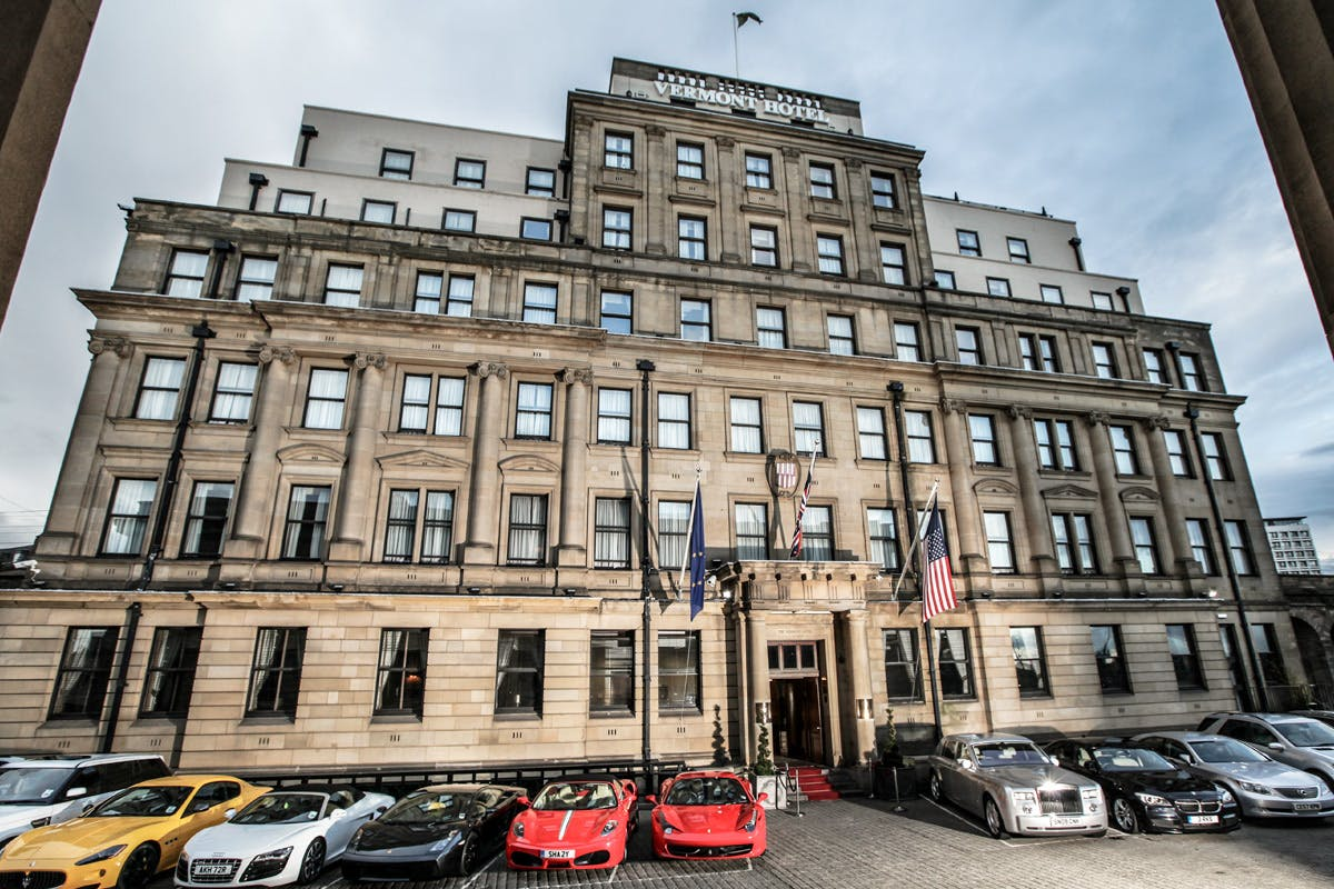 Two Night Newcastle City Break for Two at the Luxury Vermont Hotel