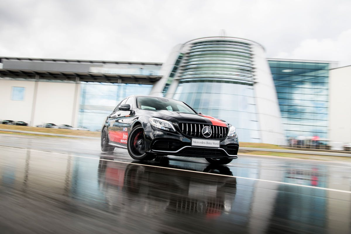 Ultimate AMG Driving Experience with the Silver Arrows at Mercedes-Benz World