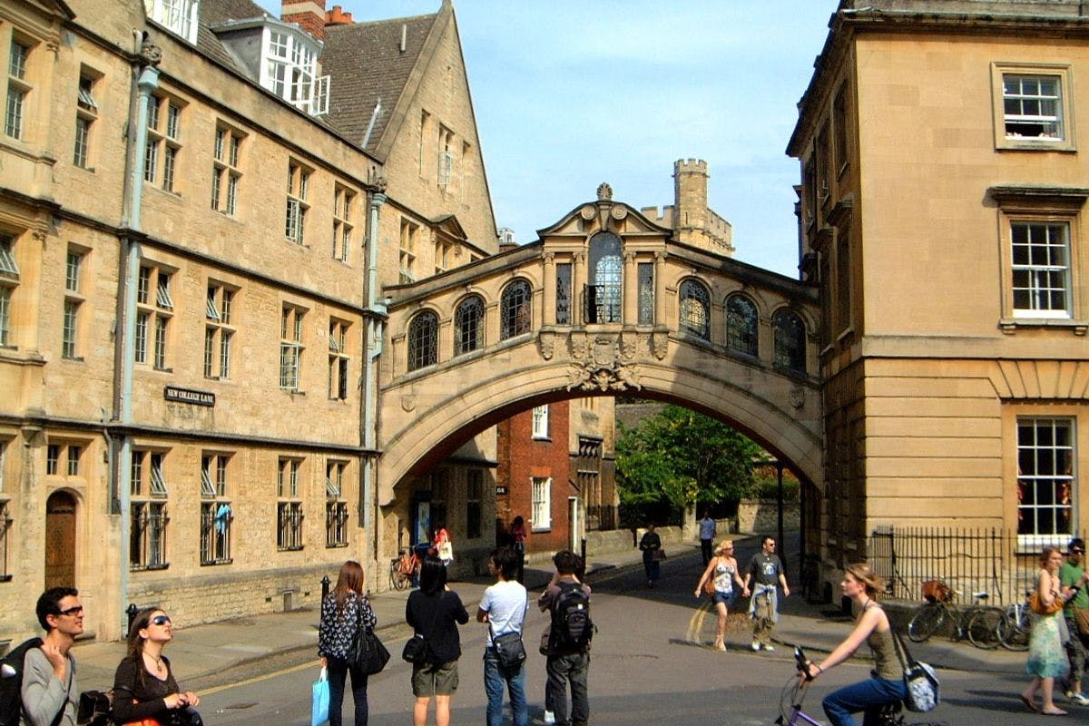 University and City of Oxford Walking Tour for Two