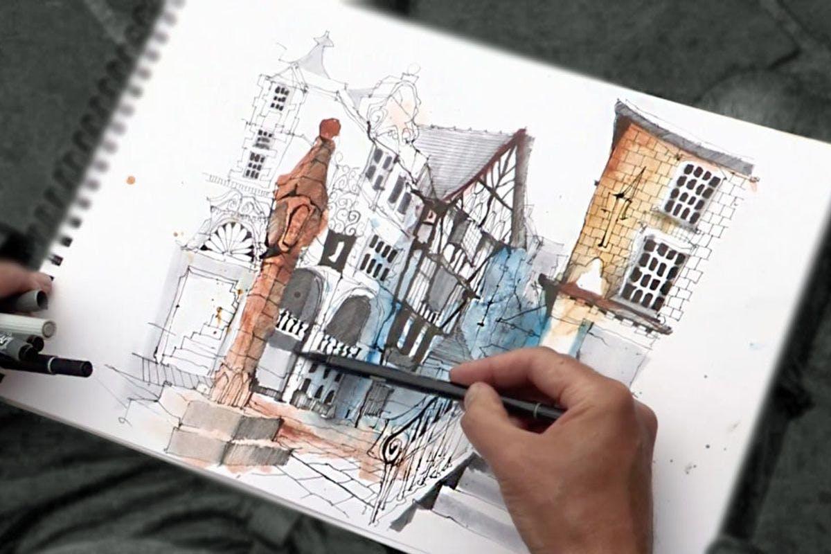 Urban Sketching Eight Part Online Course