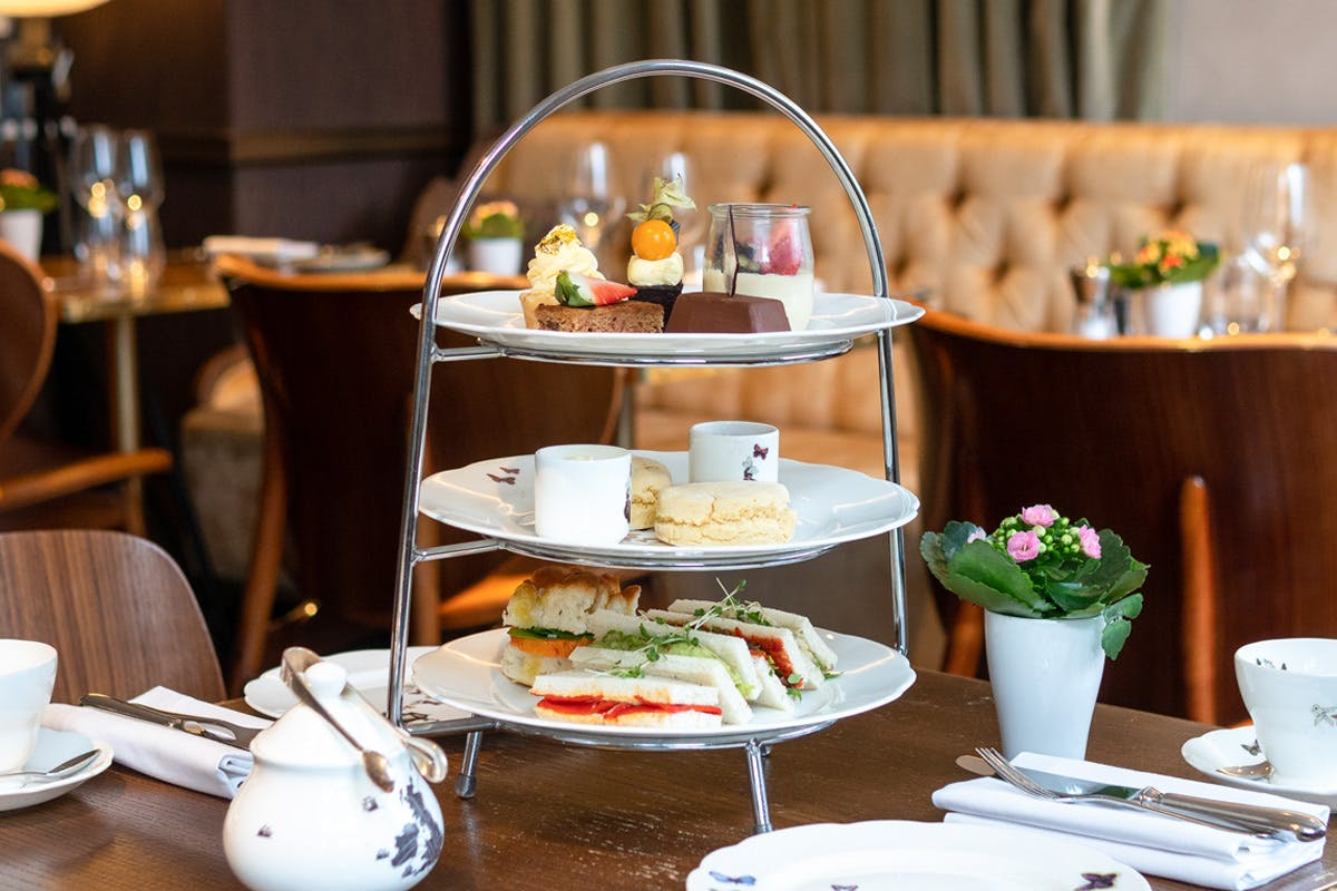 Vegan Afternoon Tea for Two at Galvin at the 5* Athenaeum, Piccadilly