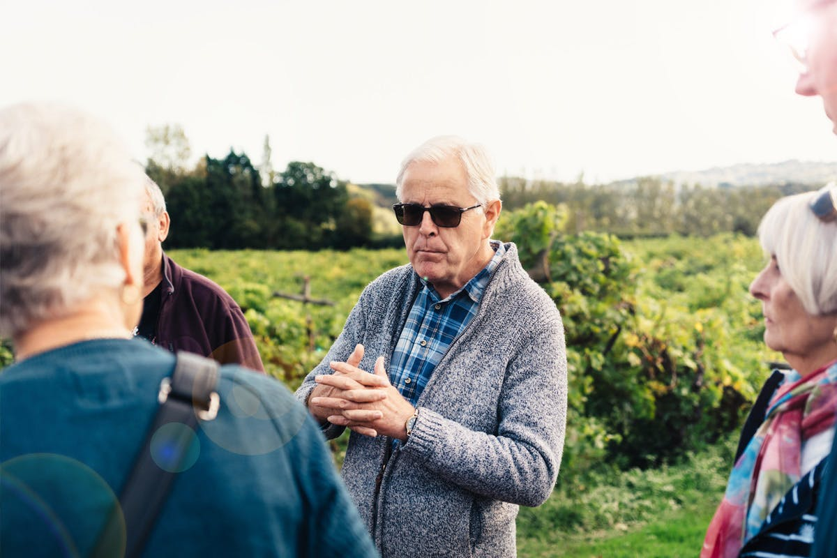 Vineyard Tour and Wine Tasting for Two