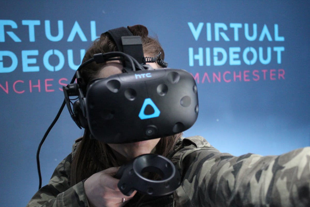 VR Experience for Two at Virtual Hideout Manchester