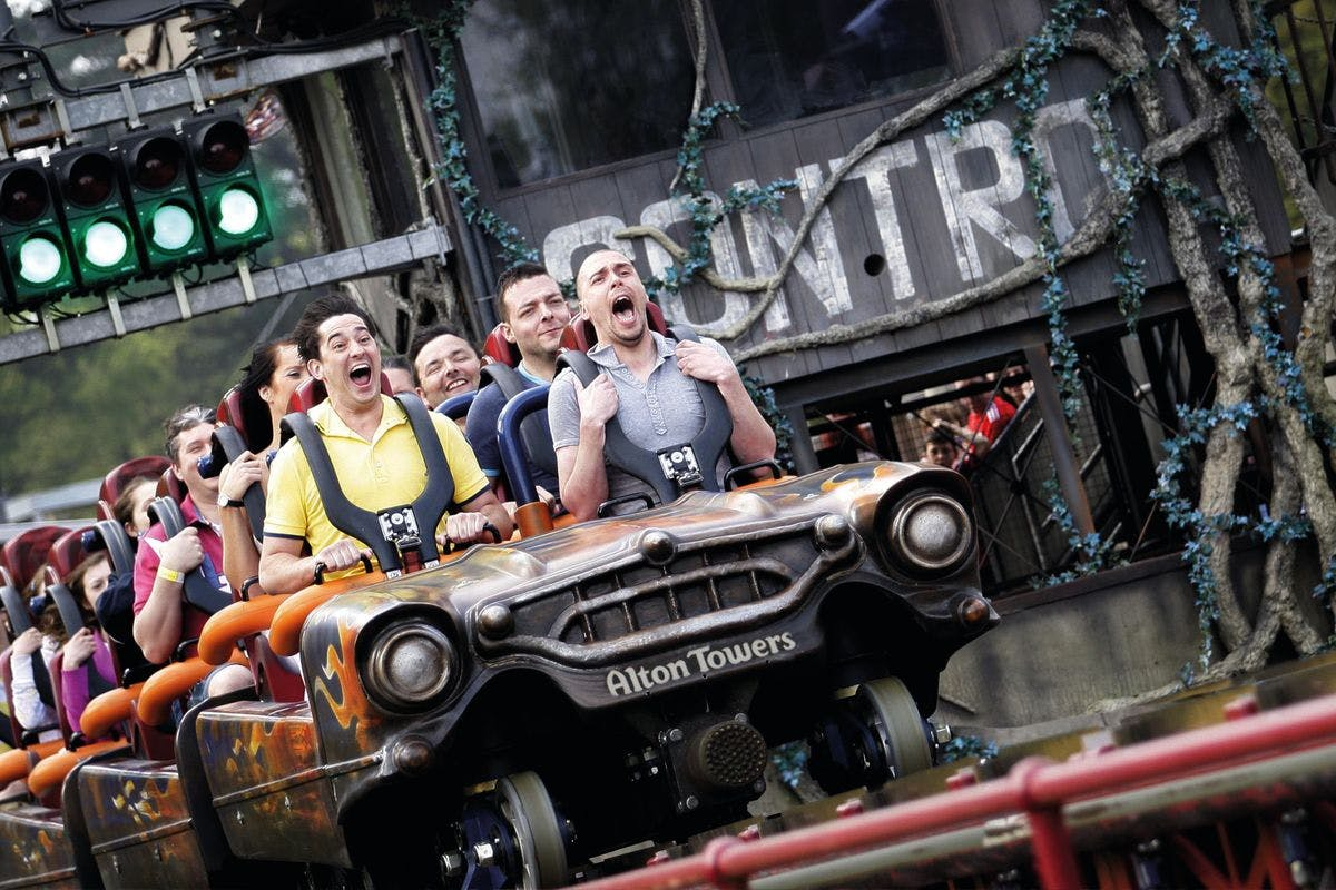 Visit to Alton Towers for Two Adults - Off Peak