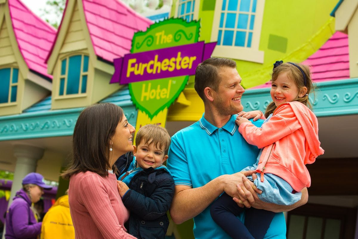 Visit to Alton Towers for Two Adults and Two Children - Off Peak