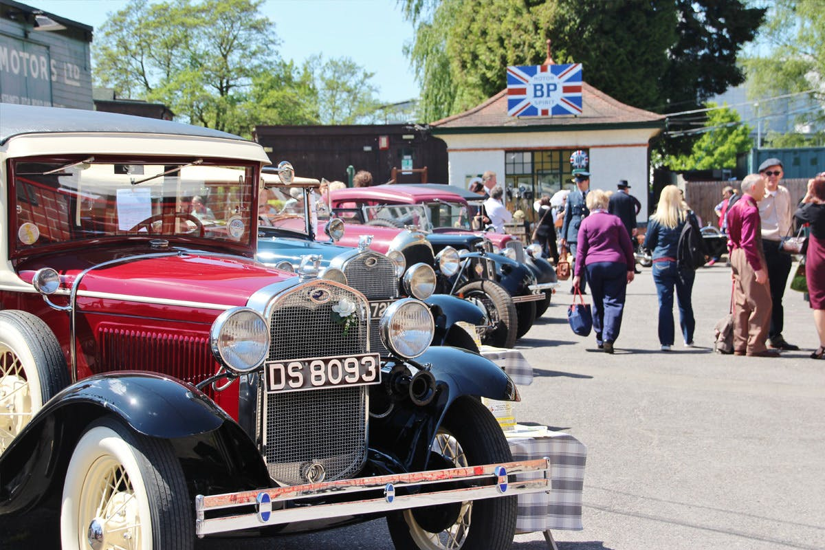 Visit to Brooklands Museum for Two