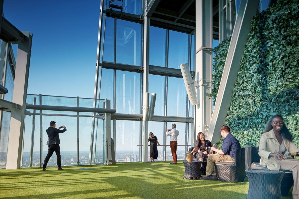 Visit to The View From the Shard for a Family of Three with Souvenir Photos