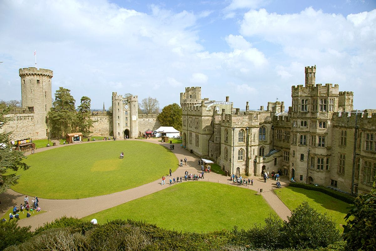 Visit to Warwick Castle - Two Adults