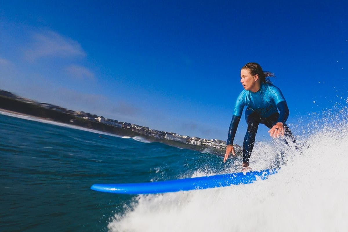 Week Long Newquay Surf Retreat with Women + Waves
