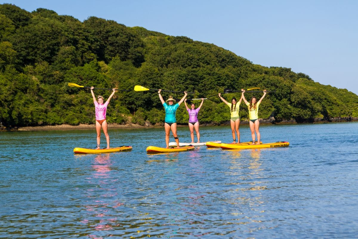 Weekend of Water Activities on the Cornish Coast with Women + Waves