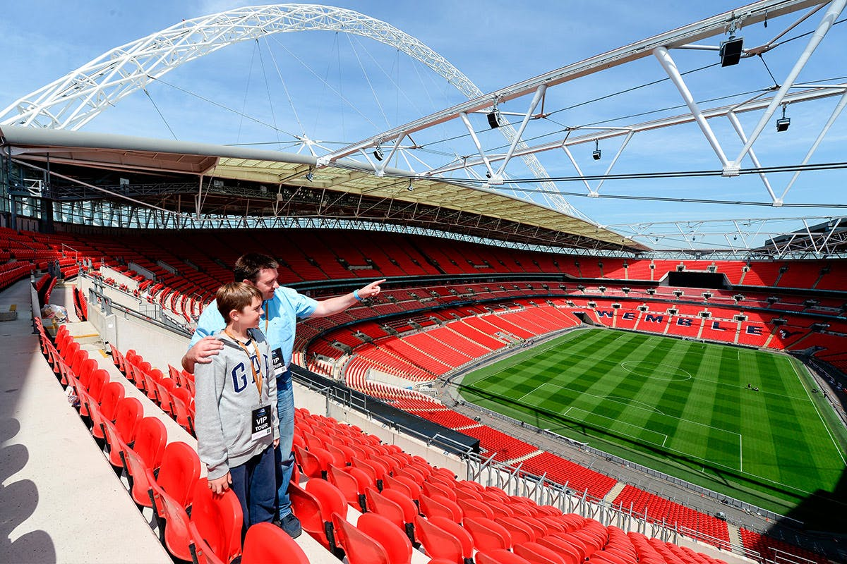 Buy Wembley Stadium Tour For Two Adults - Virgin Experience Days Voucher