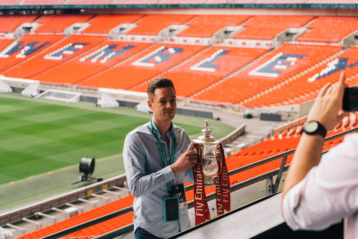 Buy 1 Hour And 15 Minute Wembley Stadium Tour For One Adult - Virgin Experience Days Voucher