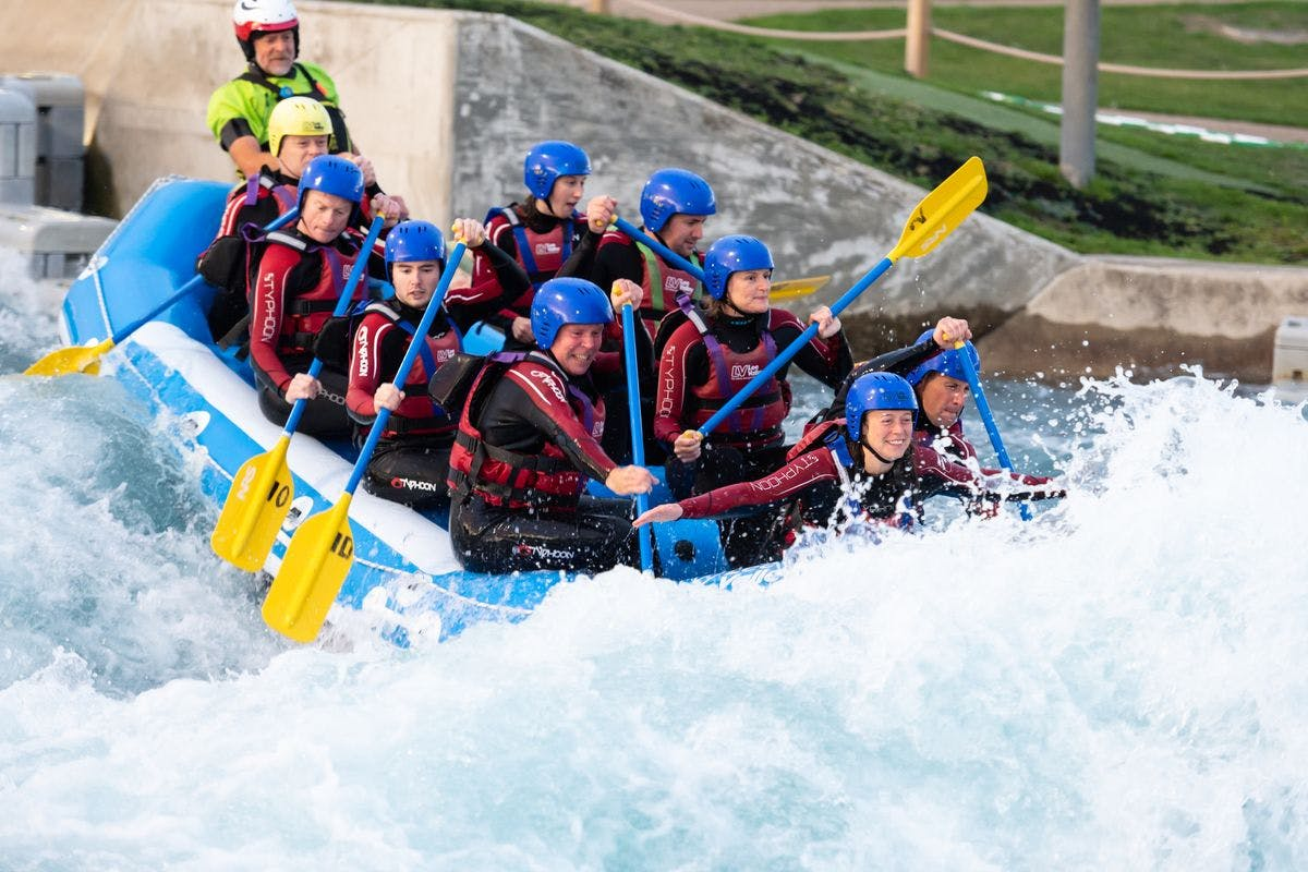 White Water Rafting Experience For Two At Lee Valley