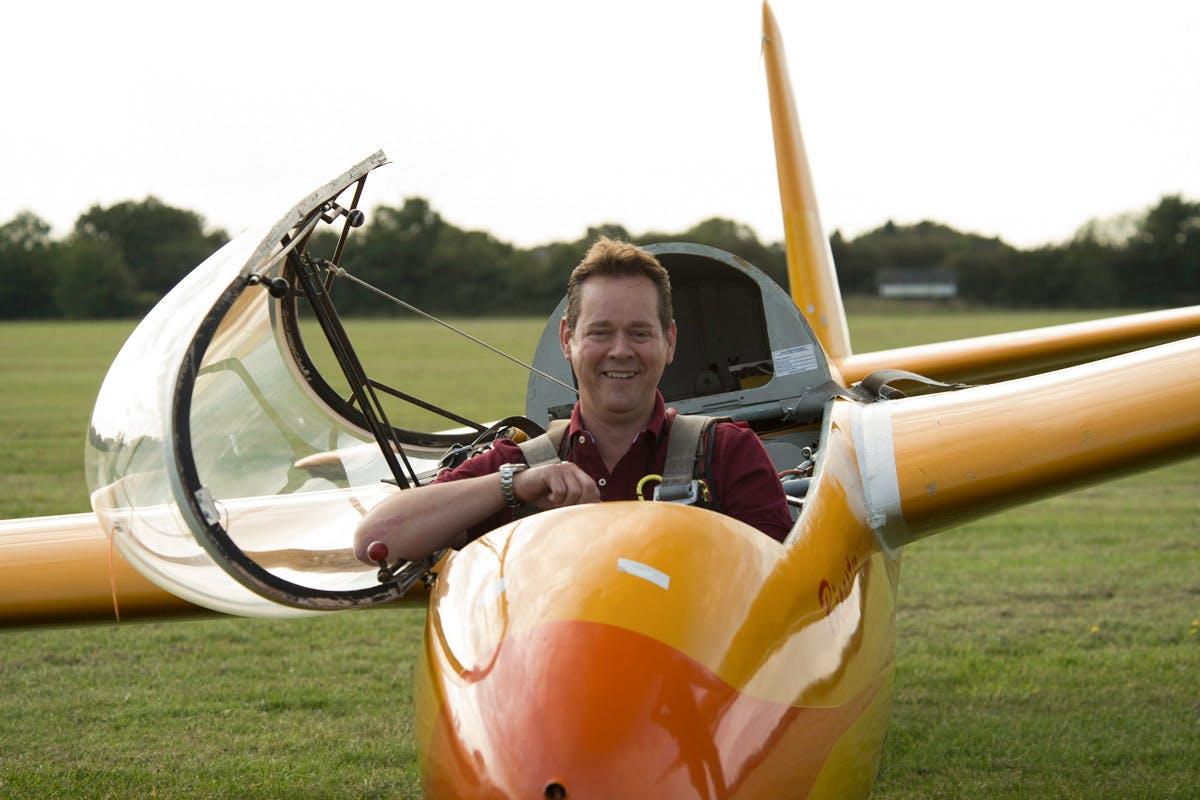 Winch Launch Glider Flight