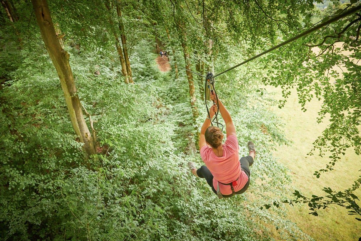 Zip Trekking Adventure for Two at Go Ape