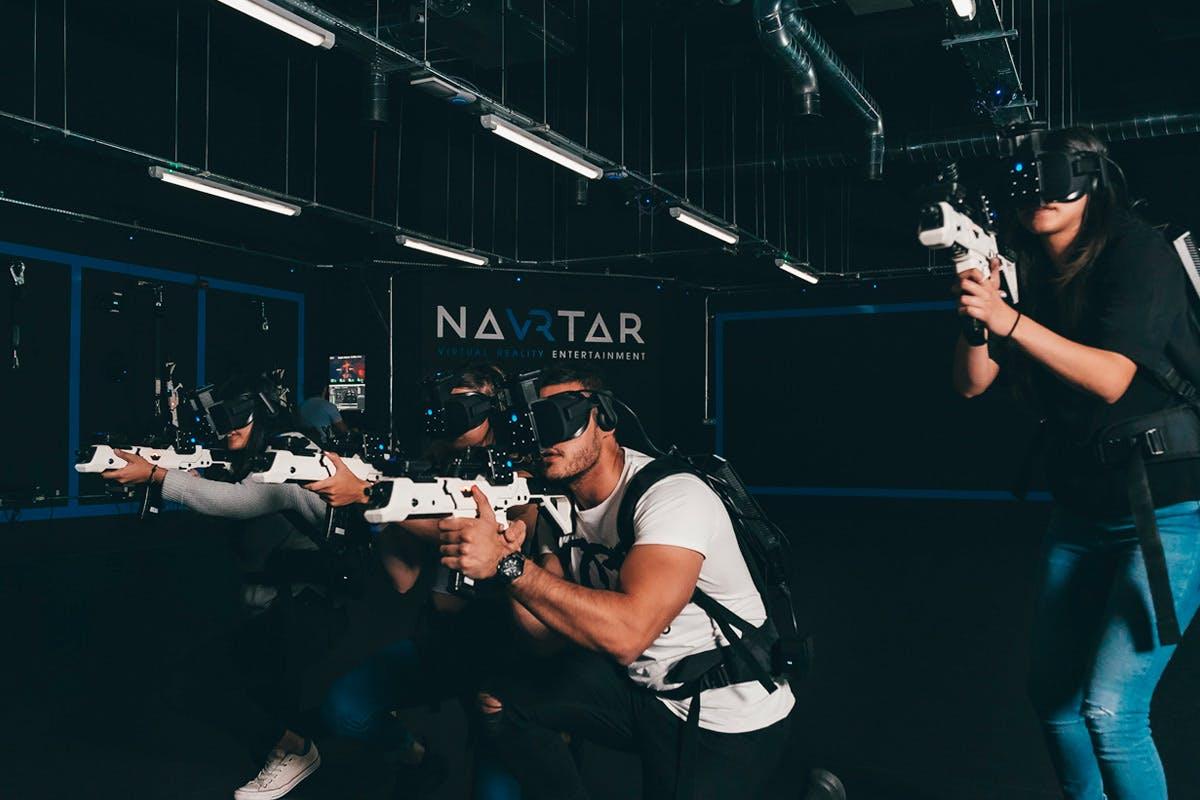 Zombie Apocalypse Free-Roam VR Experience for Four