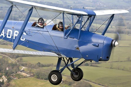 30 minute Tiger Moth Trial Lesson with Souvenir DVD