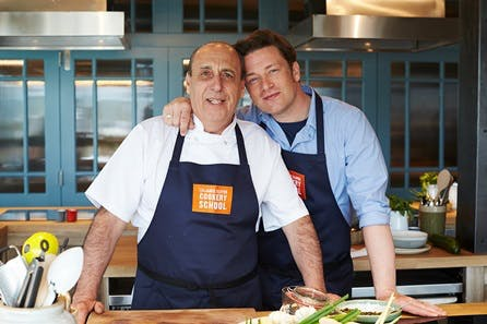 5 Ingredients- Quick & Easy Class at Jamie Oliver's Cookery School
