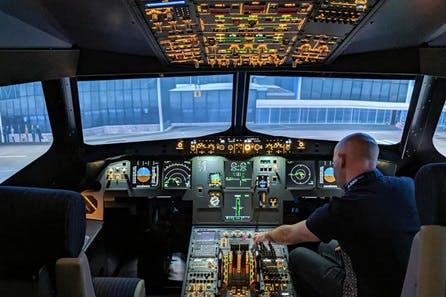 90 minute Airbus A320 Flight Simulator
