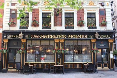 Sherlock Holmes Walking Tour of London for Two