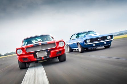 Double American Muscle Car Blast