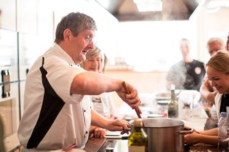 A Day in Amalfi Cookery Class with Giancarlo Caldesi at La Cucina Caldesi