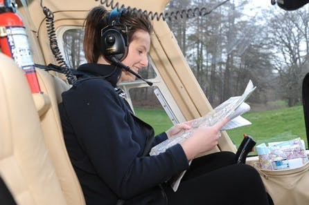 Tactical Helicopter Lesson with Hands on Hover Challenge