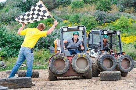 JCB Dumper Truck Racing for Two