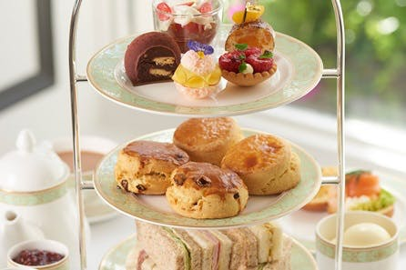 Afternoon Tea for Two at The Park Room, at the Luxury 5* Grosvenor House Hotel